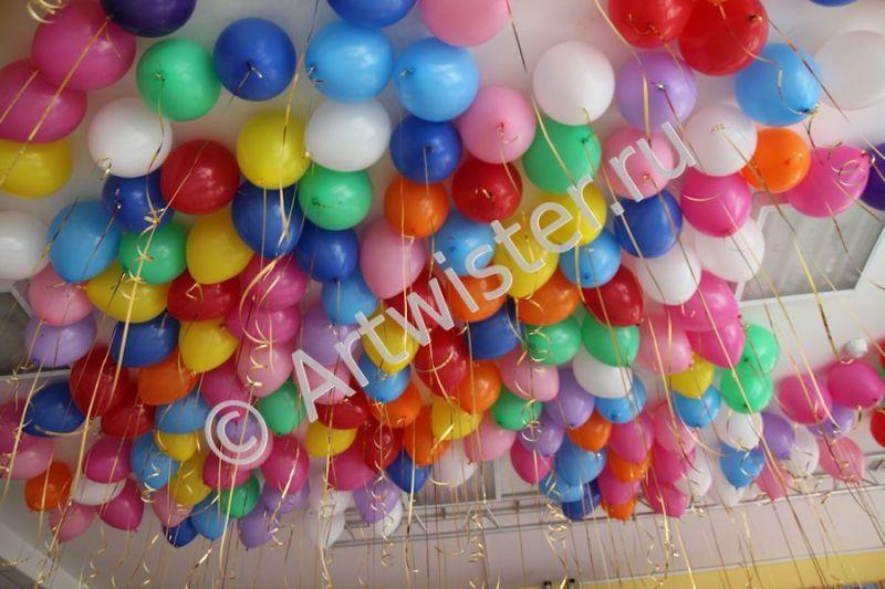 Воздушные шары от компании Артвистер