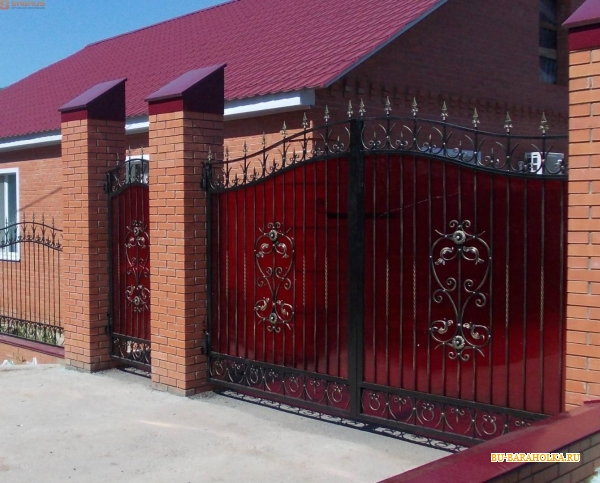 Фото дизайн ворот и калитки