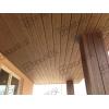 Фасадная доска, планкен GDWAL 2130 Цвет Шоколад из ДПК, структура дерево.