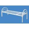 Кровати металлические для хостелов, кровати от производителя, кровати с деревянными спинками, кровати для санатория