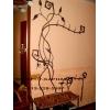 Мебель кованая, вешалка, кровать, подставки, калошницы, тумбочки, прихожие