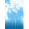Алюминиевая односекционная приставная лестница. Серия Н1. Артикул: 5107. Россия