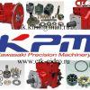 Ремонт гидростанции kawasaki  k5v63dt, k5v80dt, k5v112dt, k5v180, k5v200dtp. ctk
