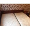 2 кровати с матрасами аскона