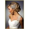 Модные свадебные прически.