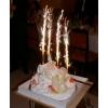 Настольные фонтаны в торт