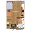 Продажа квартиры 35 кв.м. с участком земли в таунхаусе