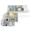 Дизайн интерьера типовых квартир серии П44Т/К