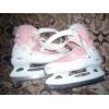 фигурные коньки для девочки р.36  розового цвета