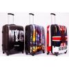 Комплект пластиковых чемоданов David Jones.