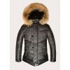 Мужские кожаные куртки и пуховики из 100% натуральной кожи