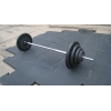 Напольное покрытие в спортивные залы с тренажерами со свободными весами