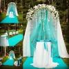 Оформление свадеб цветами и тканью