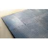 Резиновая плитка для пола зала кроссфита - толщина жесткой литой резины 2,5 см