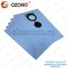 Синтетические мешки - пылесборники для пылесоса Bosch GAS 25 (5 шт.)