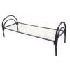 Кровати металлические с деревянными спинками, кровати для турбазы, кровати для строительных времянок, бытовок