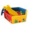 Бассейн для детей с горкой в прокат
