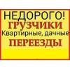 Услуги грузчиков разнорабочих все районы