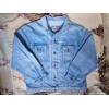куртка джинсовая большая
