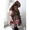 Кукла коллекционная, фарфоровая, мягконабивное туловище, в идеальном состоянии,