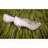 Туфли бежевые, 38 размер, Италия, натуральная кожа