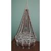 Плетеное подвесное кресло ручной работы