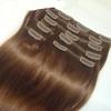 Азиатские волосы на заколках