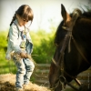 Покатать детей на лошадях в Ростове можно в Доме белой лошади
