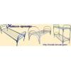 Кровати металлические одноярусные от 750 руб Металлические кровати двухъярусные от 1400 руб