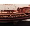 Модель корабля ручной работы. Голландская яхта 17 века