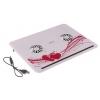 Подставка для охлаждения ноутбука CP-816, USB HAB, 2 кулера