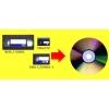 перезапись оцифровка видеокассет на DVD ,флешки.